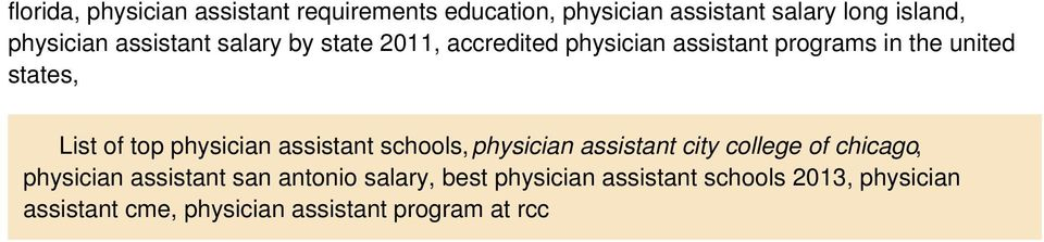 physician assistant schools, physician assistant city college of chicago, physician assistant san antonio
