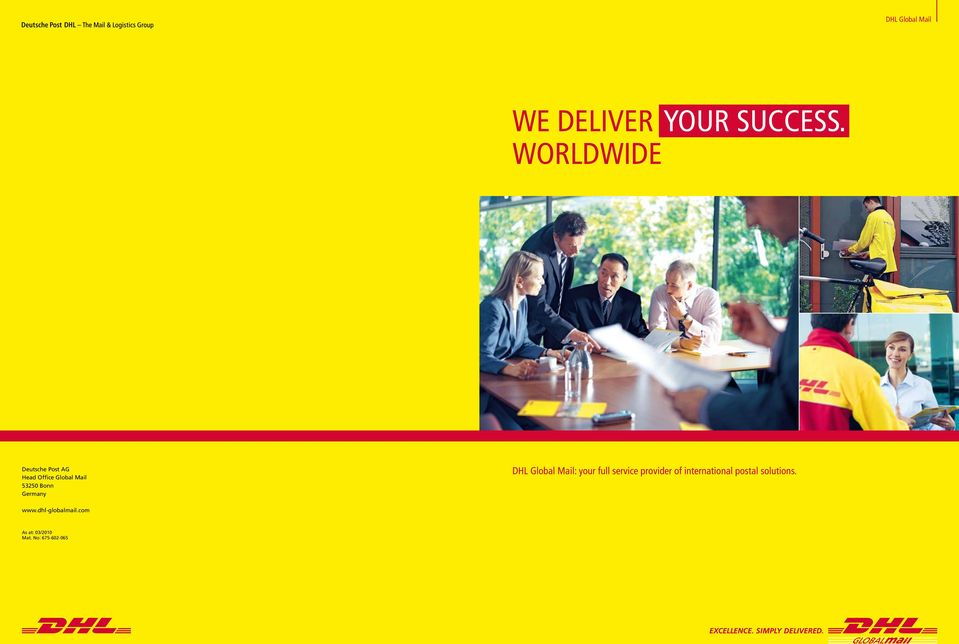 Germany DHL Global Mail: your full service provider of