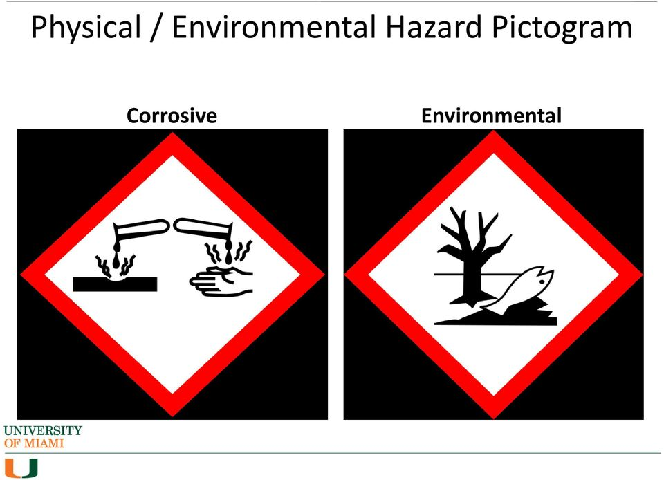 Hazard Pictogram
