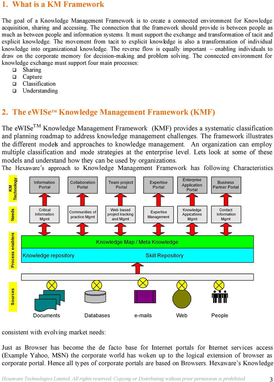 The movement from tacit to explicit knowledge is also a transformation of individual knowledge into organizational knowledge.