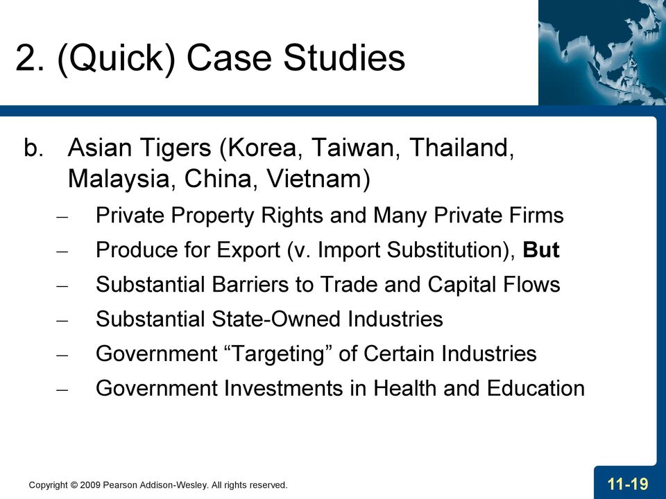 Firms Produce for Export (v.