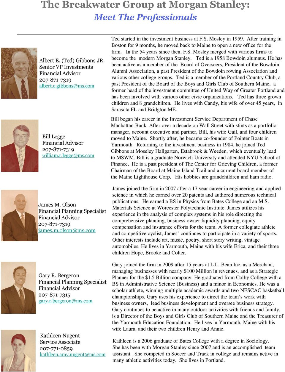The Breakwater Group at Morgan Stanley Wealth Management - PDF