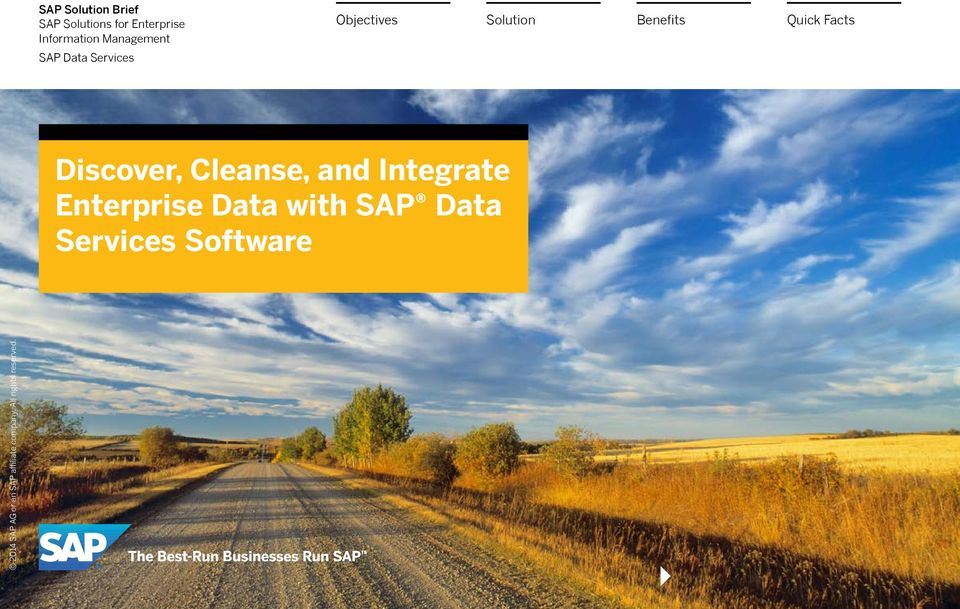 Data Services Discover, Cleanse, and