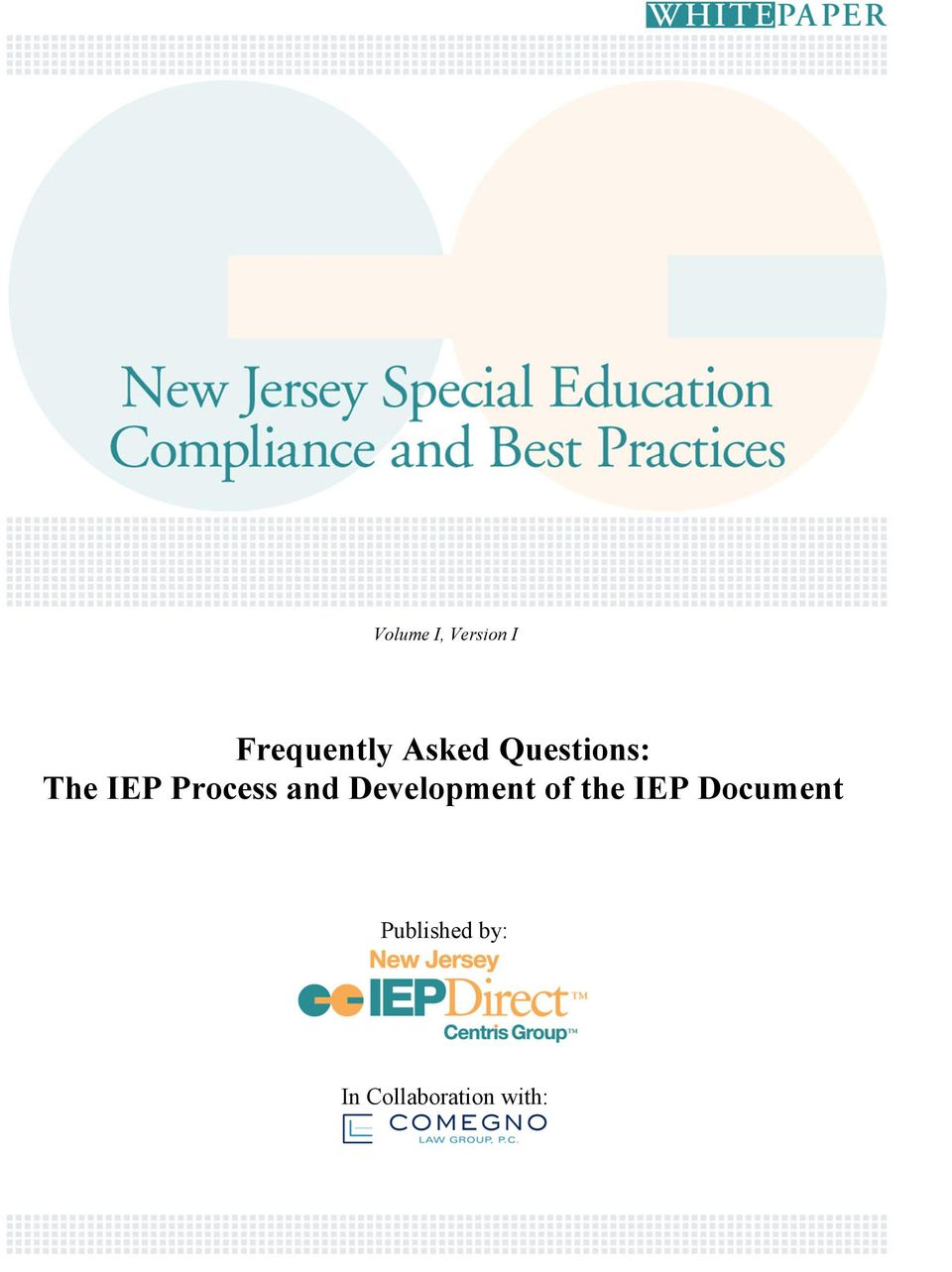 and Development of the IEP