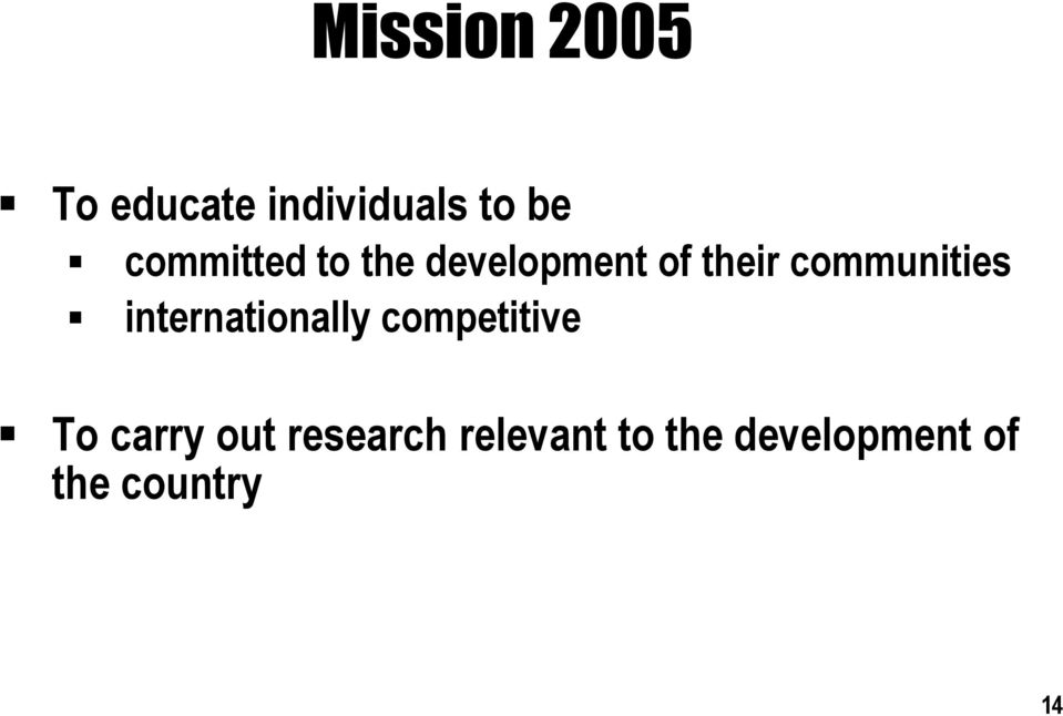communities internationally competitive To