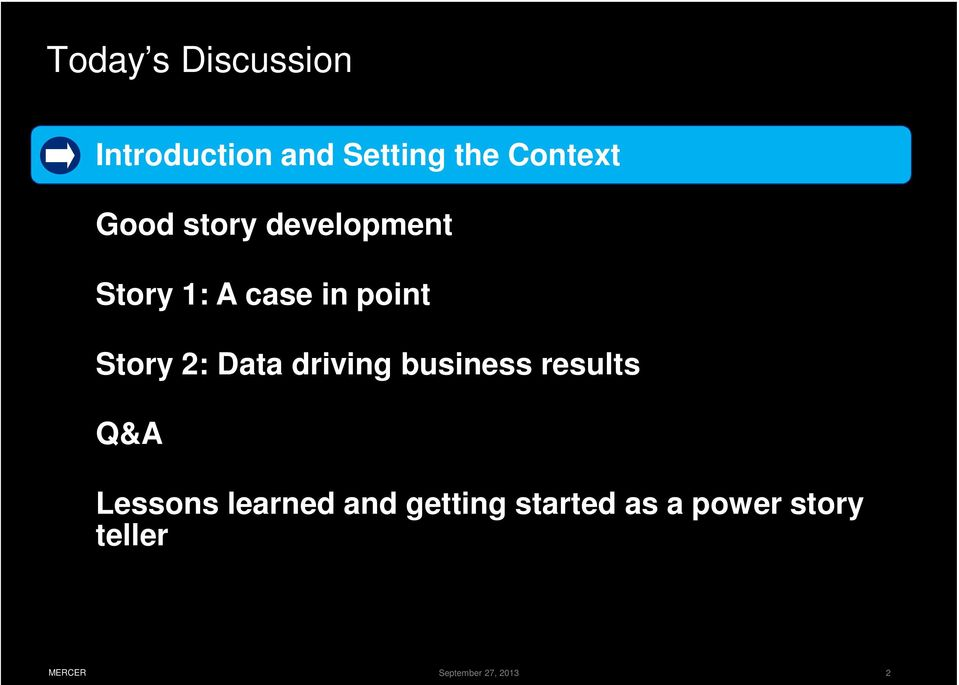 Data driving business results Q&A Lessons learned and