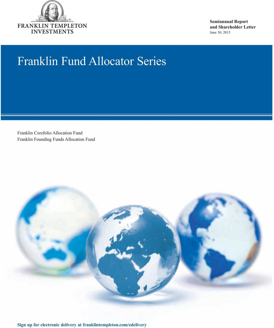 Allocation Fund Franklin Founding Funds Allocation Fund