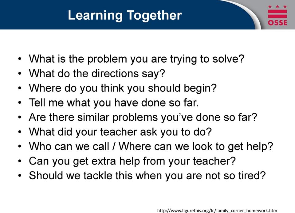 Are there similar problems you ve done so far? What did your teacher ask you to do?