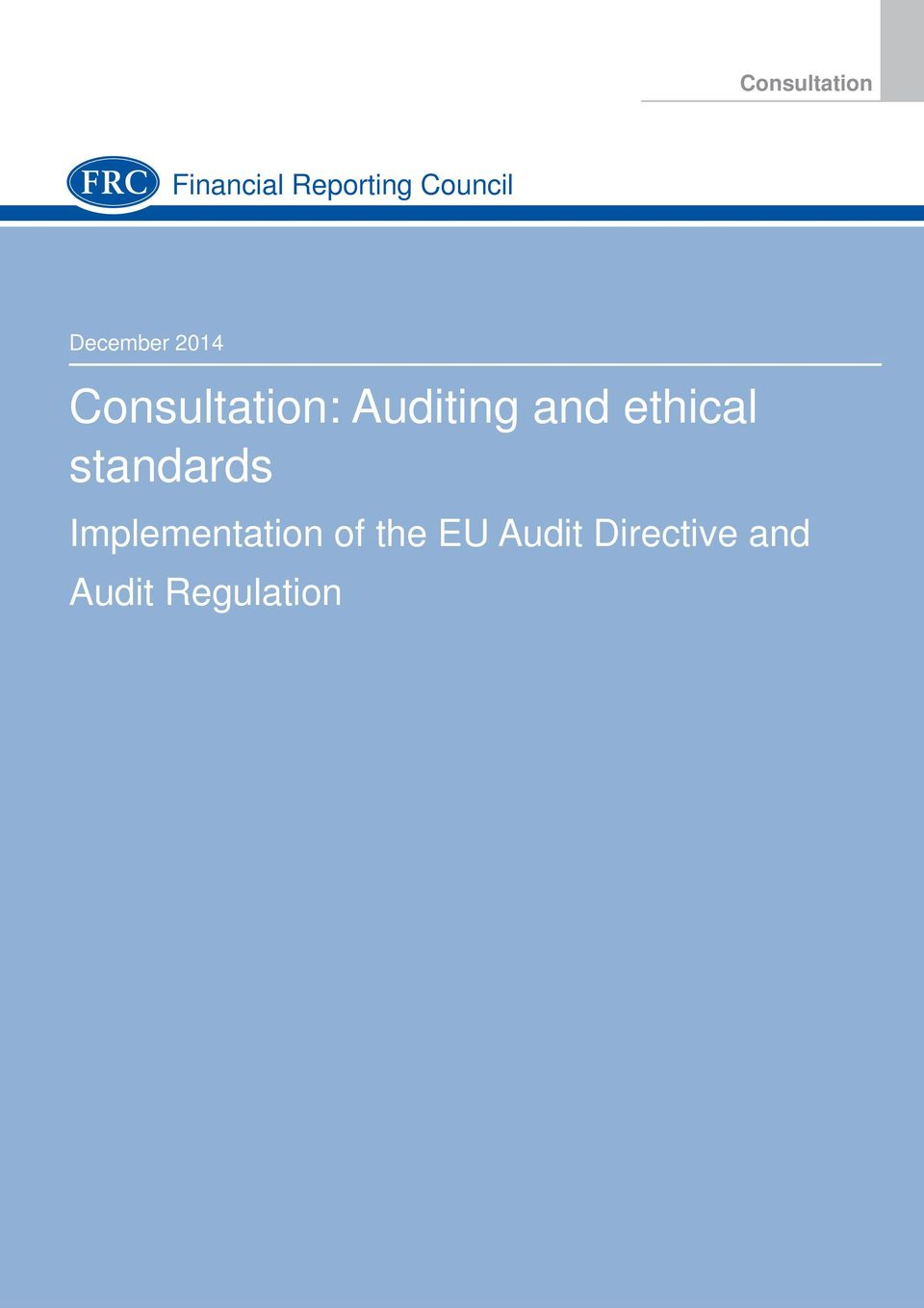 ethical standards Implementation of the