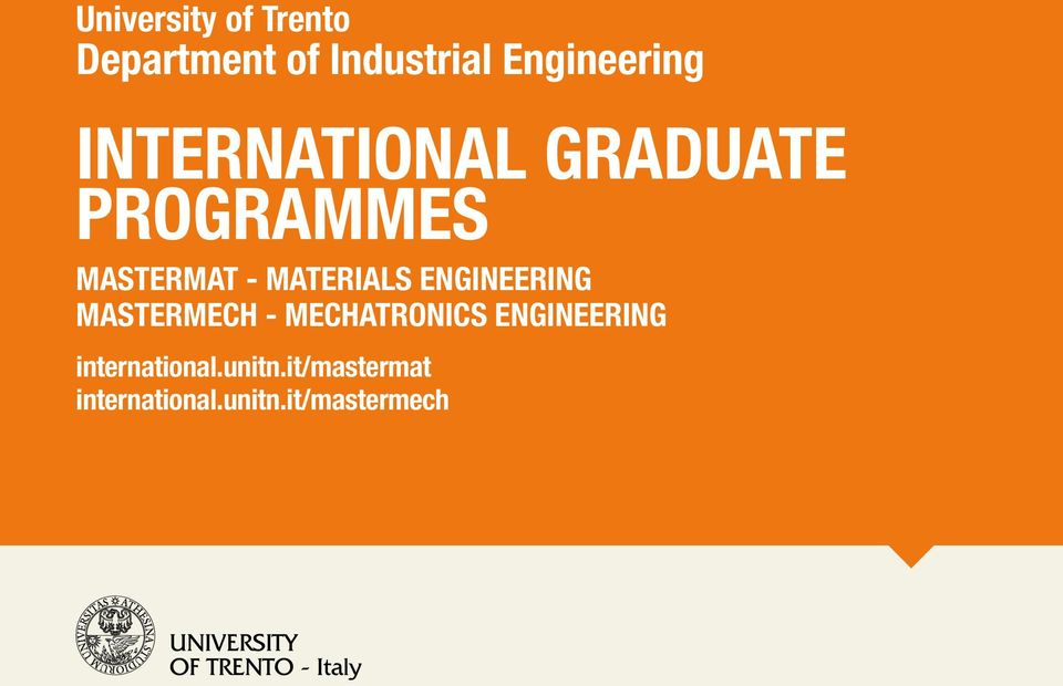 ENGINEERING MASTERMECH - MECHATRONICS ENGINEERING
