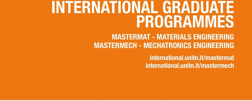 MECHATRONICS ENGINEERING international.