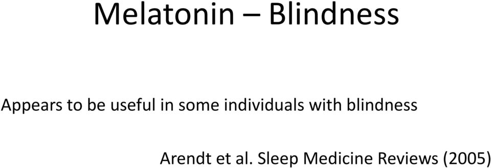 individuals with blindness