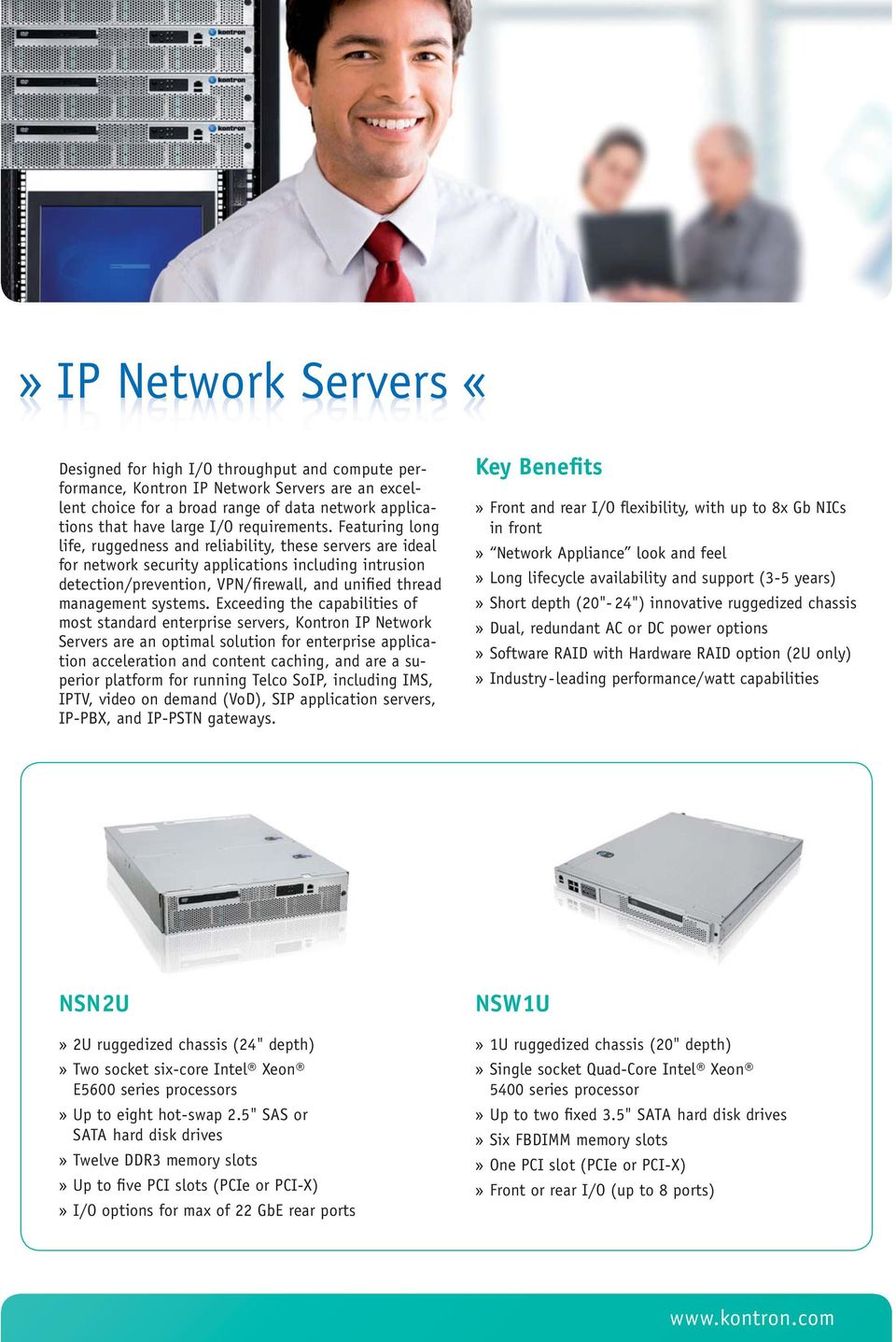 Featuring long life, ruggedness and reliability, these servers are ideal for network security applications including intrusion detection/prevention, VPN/firewall, and unified thread management