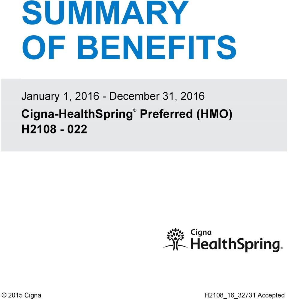 Cigna-HealthSpring Preferred