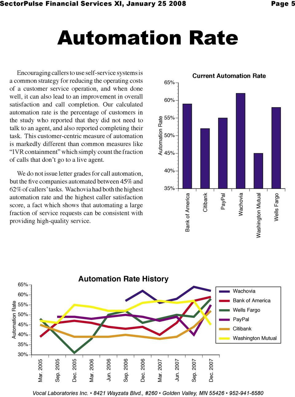 Our calculated automation rate is the percentage of customers in the study who reported that they did not need to talk to an agent, and also reported completing their task.
