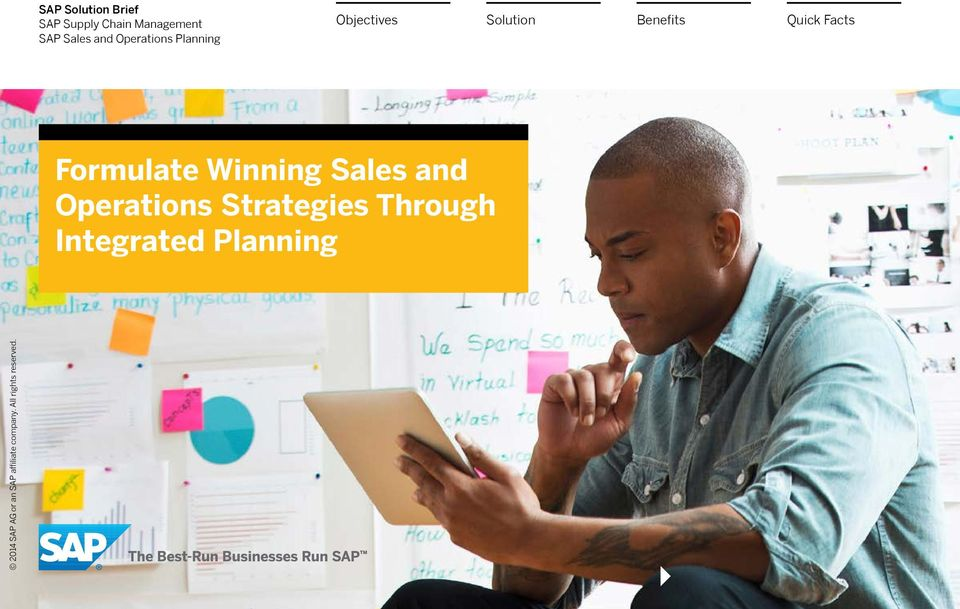 Objectives Formulate Winning Sales and