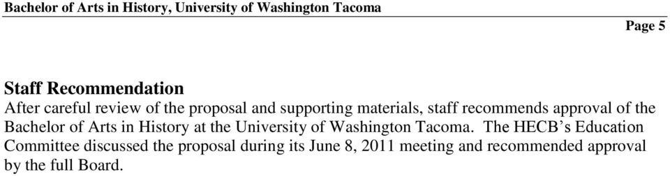University of Washington Tacoma.