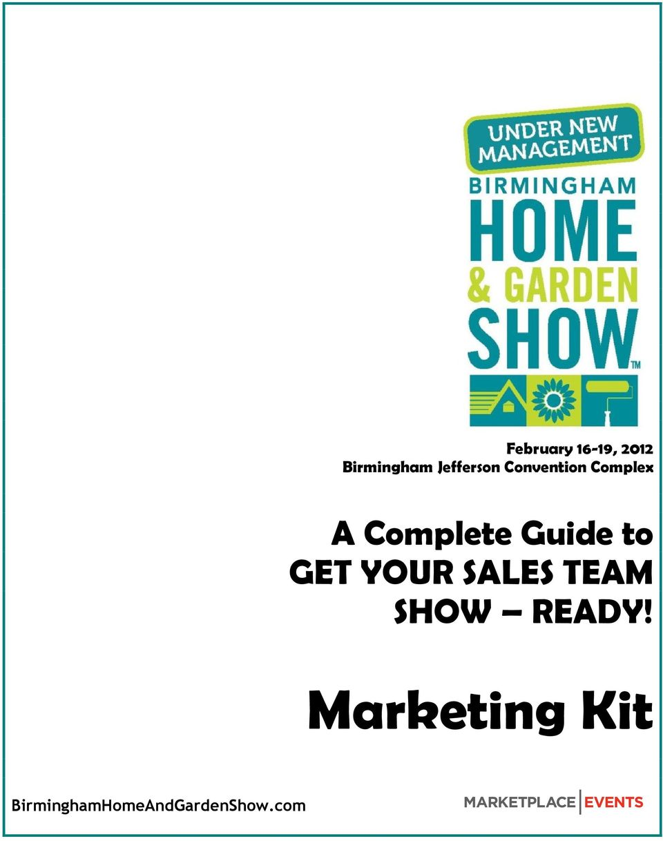 Guide to GET YOUR SALES TEAM SHOW READY!