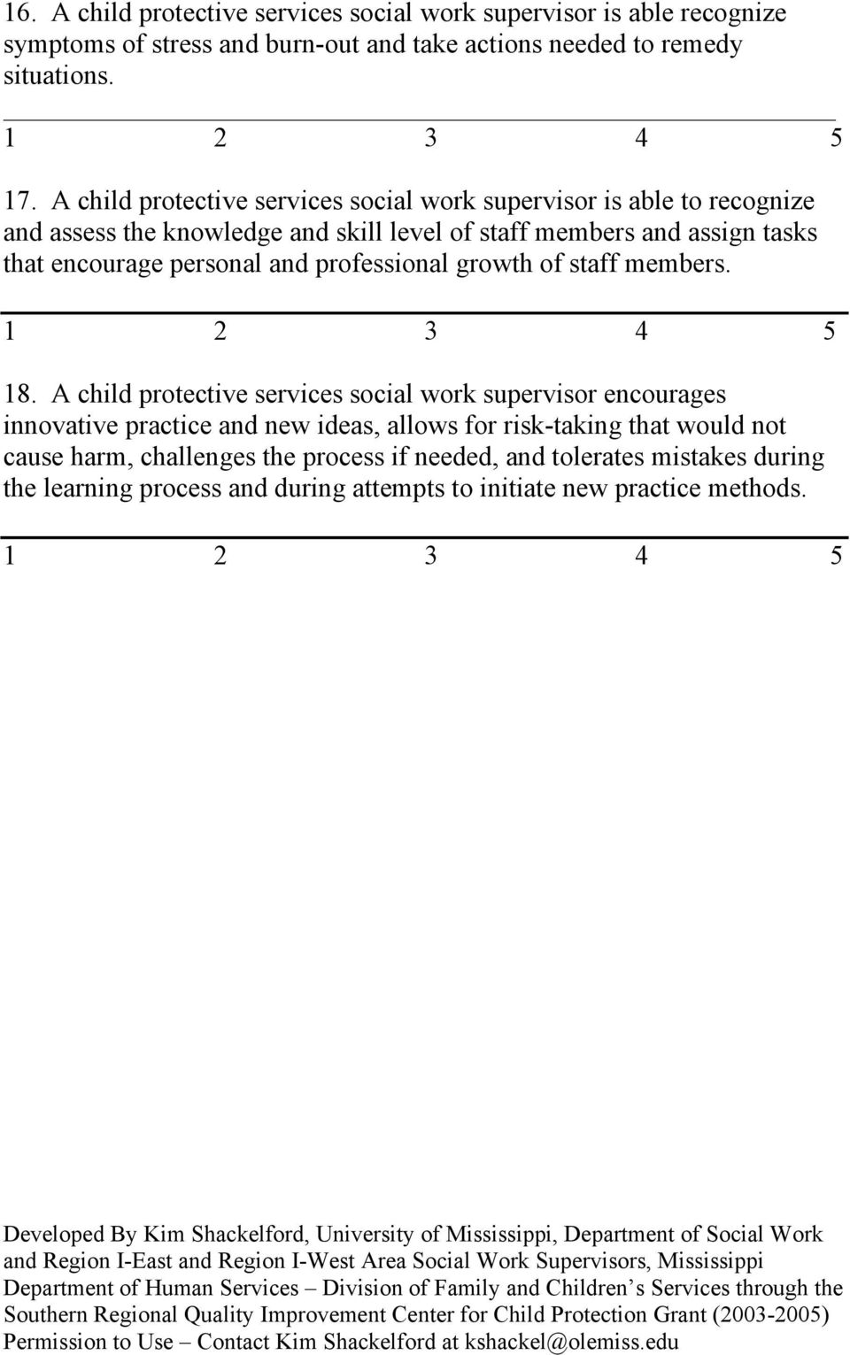 personal and professional growth of staff members. 18.
