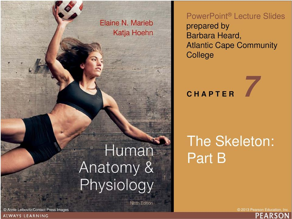 Edition Human Anatomy & Physiology C H A P T E R
