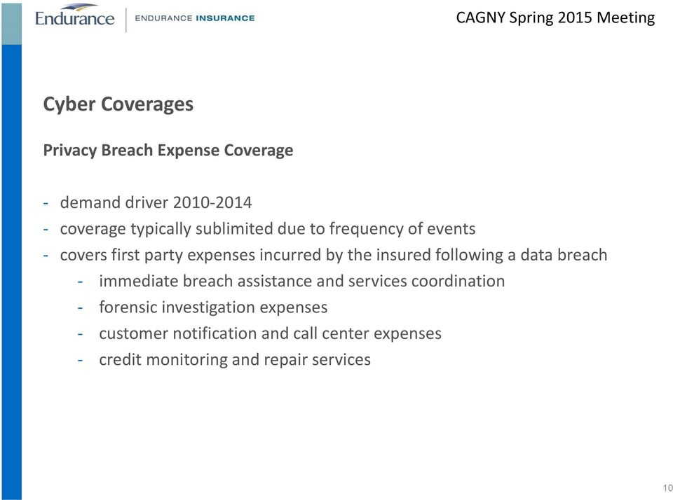 following a data breach immediate breach assistance and services coordination forensic