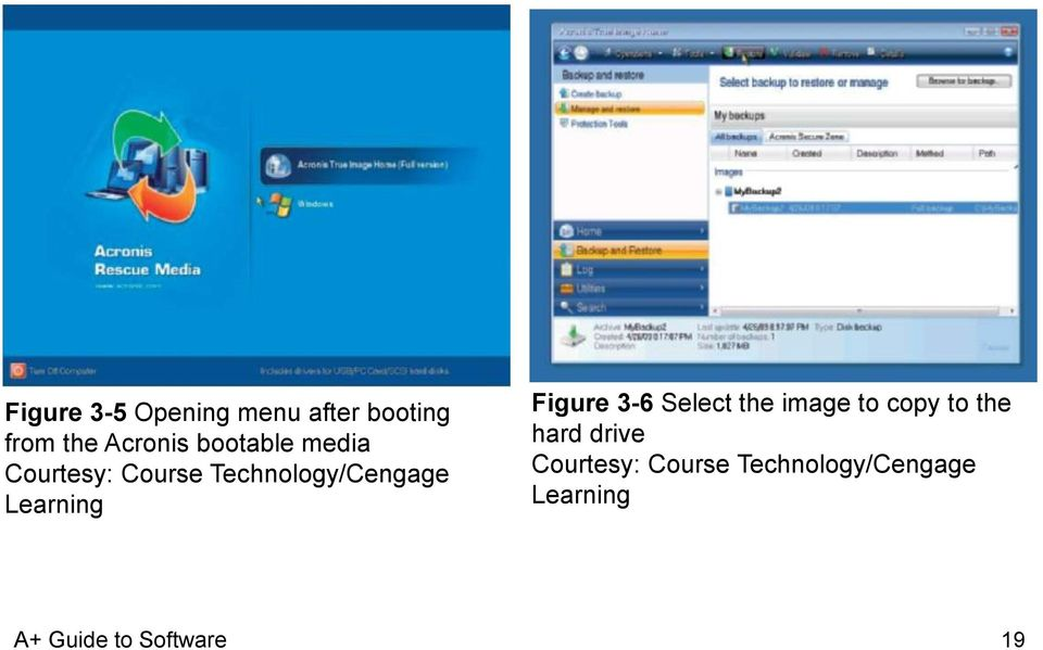 Technology/Cengage Learning Figure 3-6 Select the