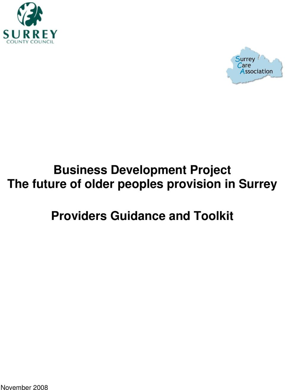 provision in Surrey Providers