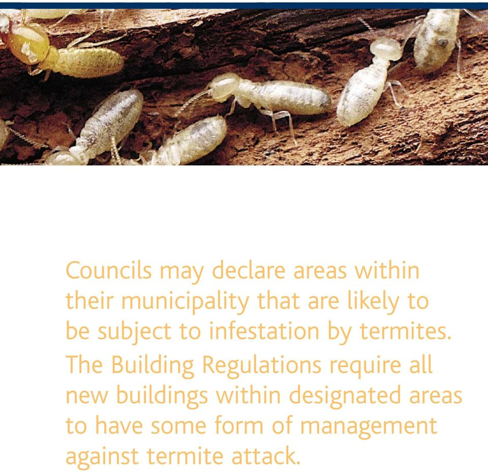The Building Regulations require all new buildings within