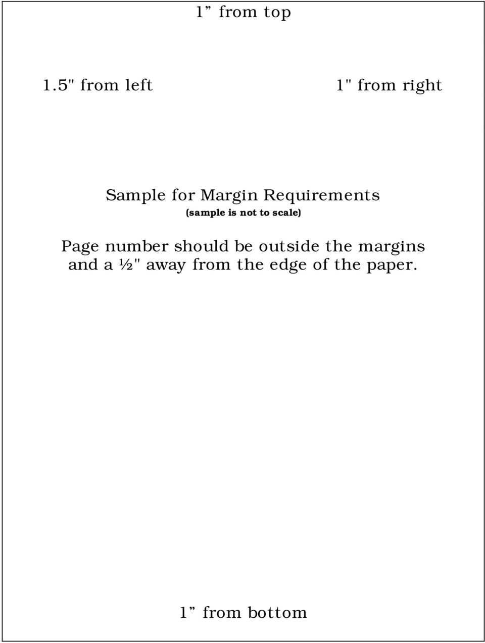 Requirements (sample is not to scale) Page