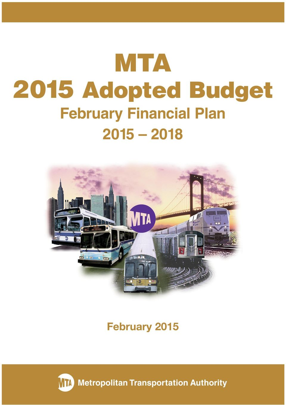 2015 Adopted Budget February
