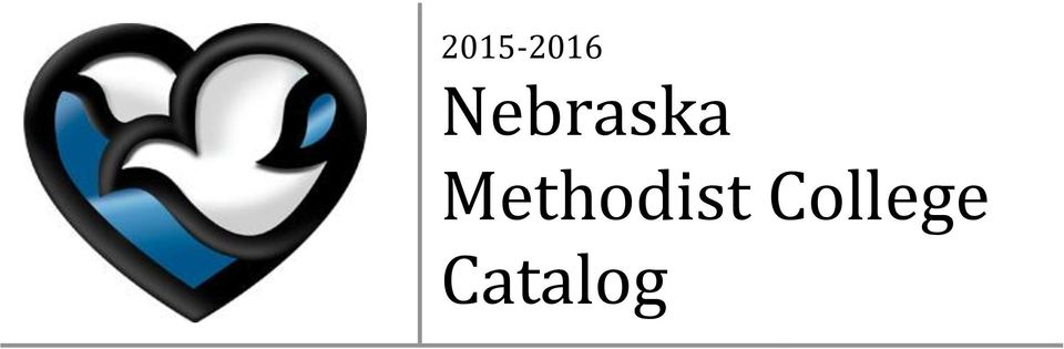 Nebraska Methodist College Catalog - PDF