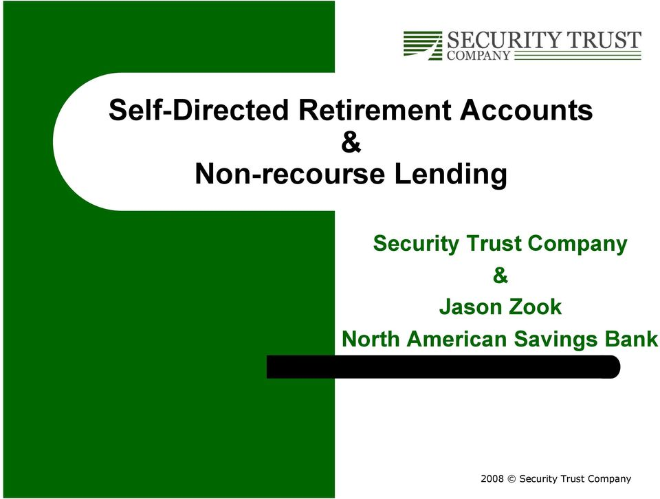 Lending Security Trust