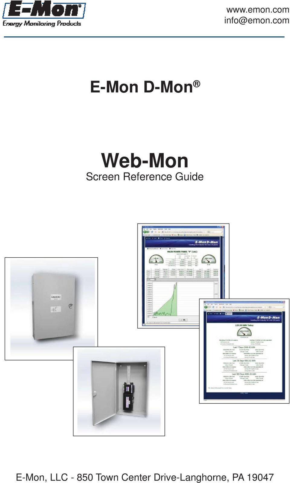 Reference Guide E-Mon, LLC -
