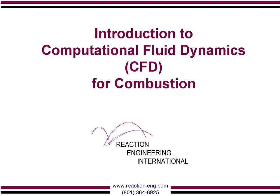 Dynamics (CFD) for