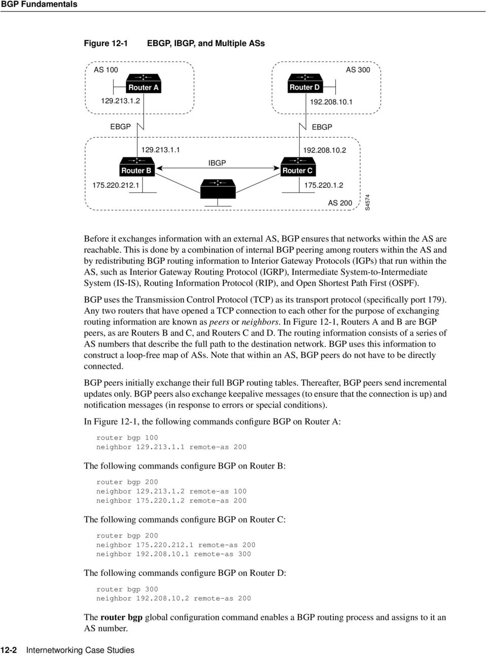 Interior Gateway Routing Protocol (IGRP), Intermediate System-to-Intermediate System (IS-IS), Routing Information Protocol (RIP), and Open Shortest Path First (OSPF).