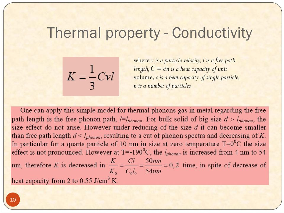 is a heat capacity of unit volume, c is a heat