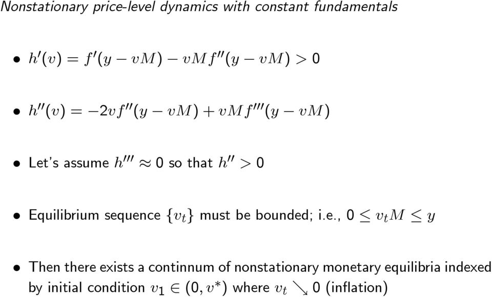 sequence { } must be bounded; i.e., 0 Then there exists a continnum of