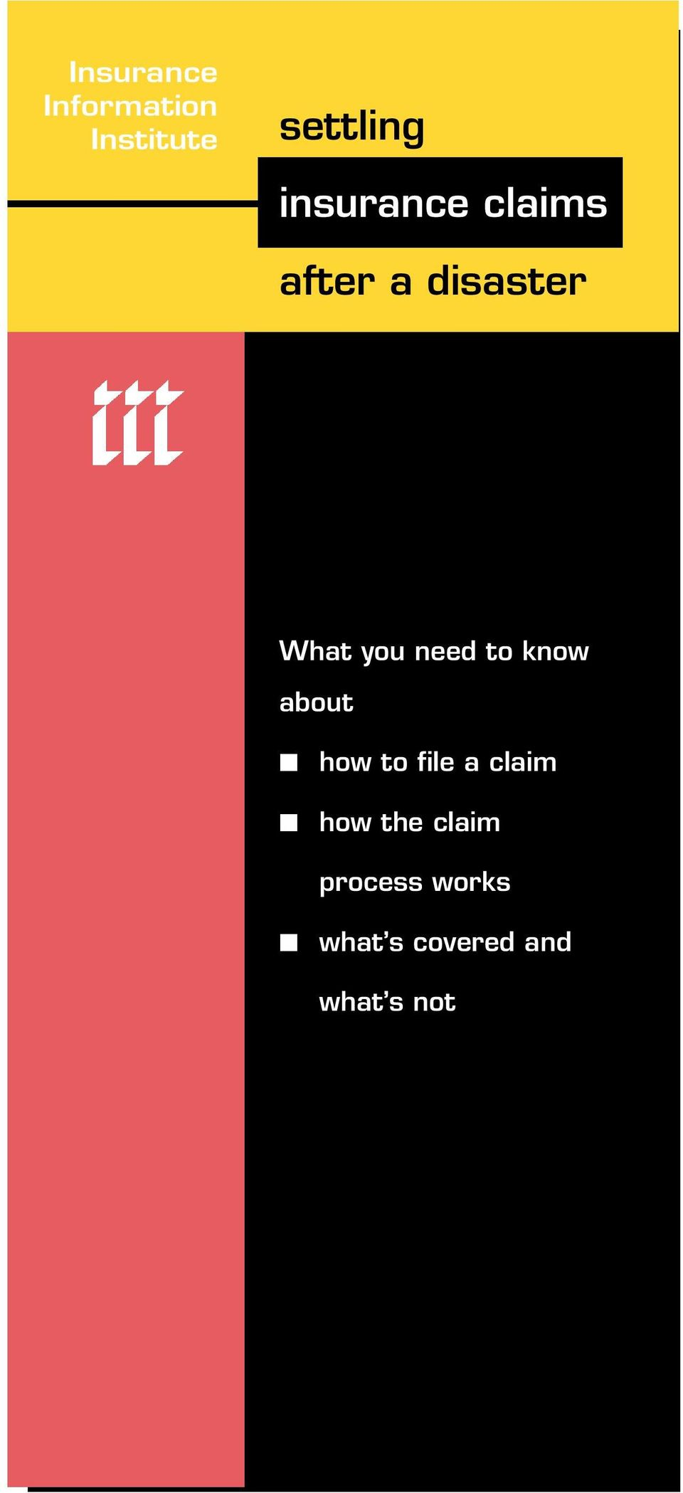 need to know about how to file a claim how