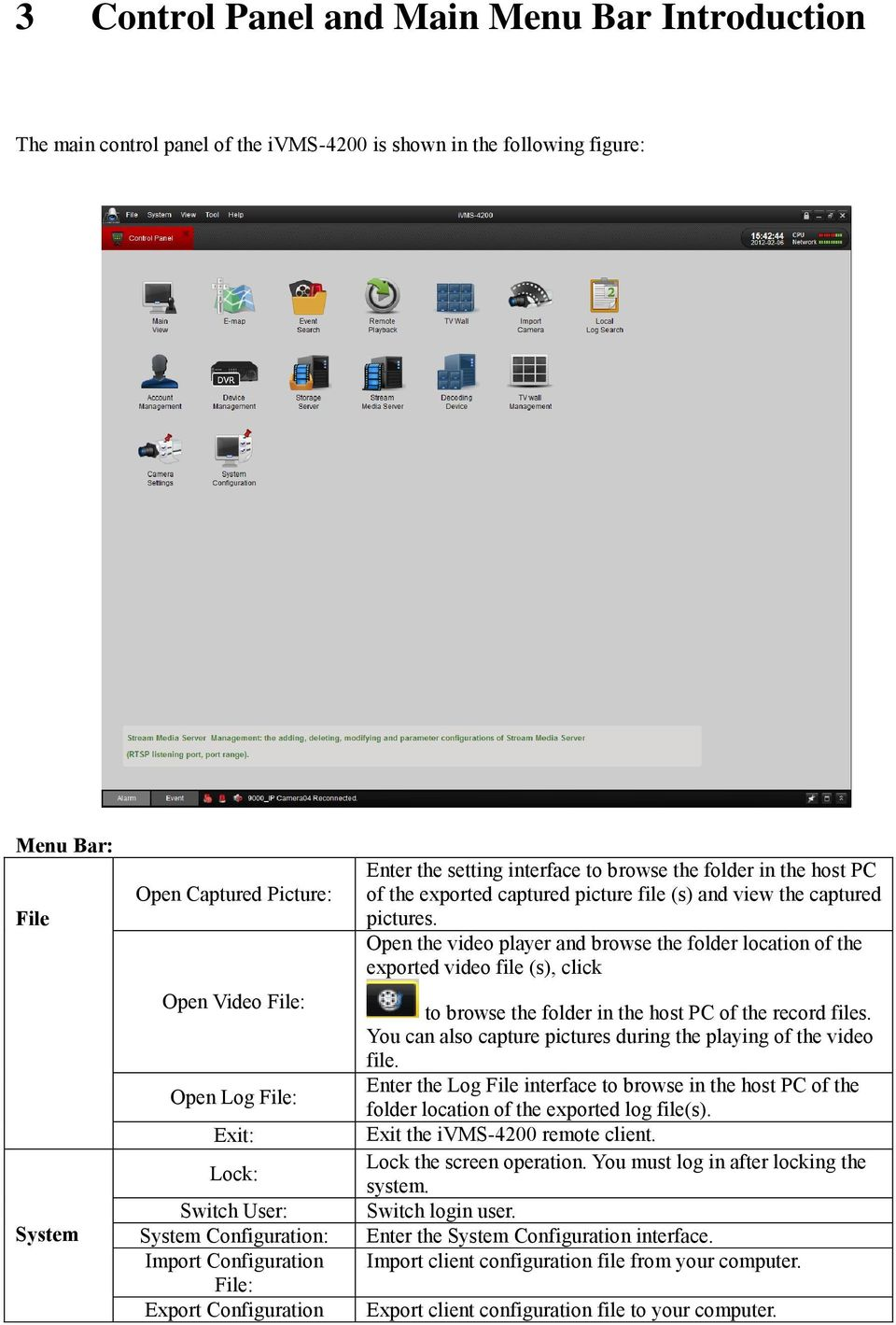 (s) and view the captured pictures. Open the video player and browse the folder location of the exported video file (s), click to browse the folder in the host PC of the record files.