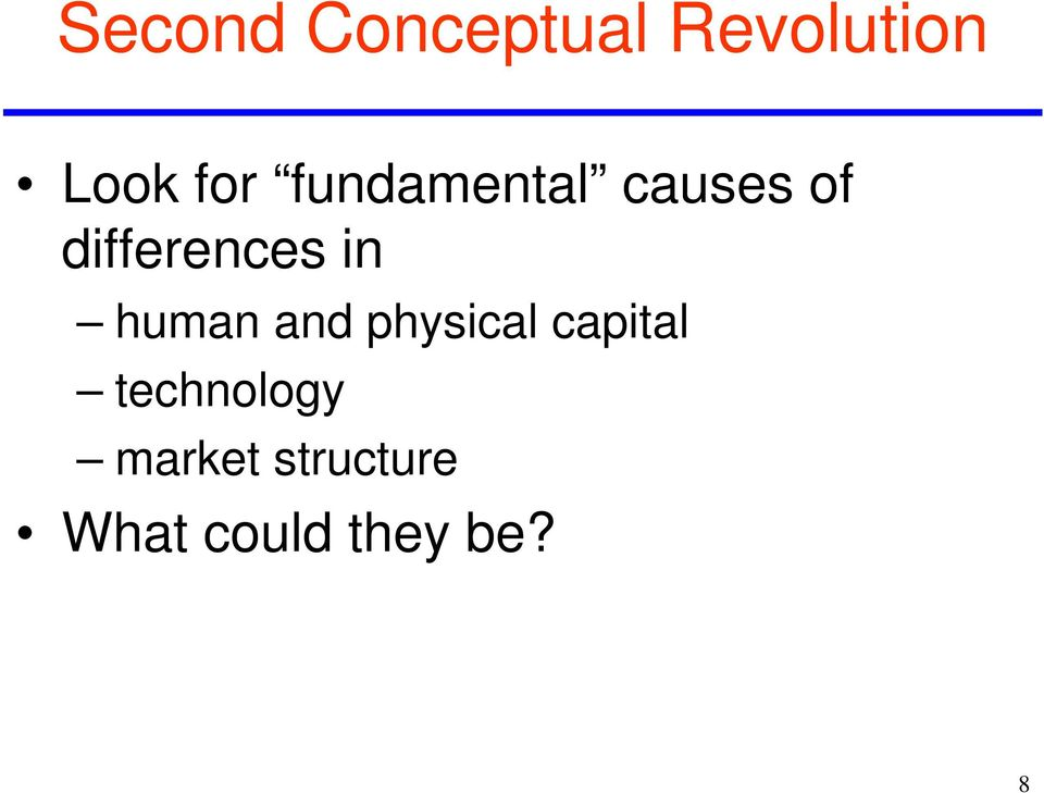 human and physical capital technology