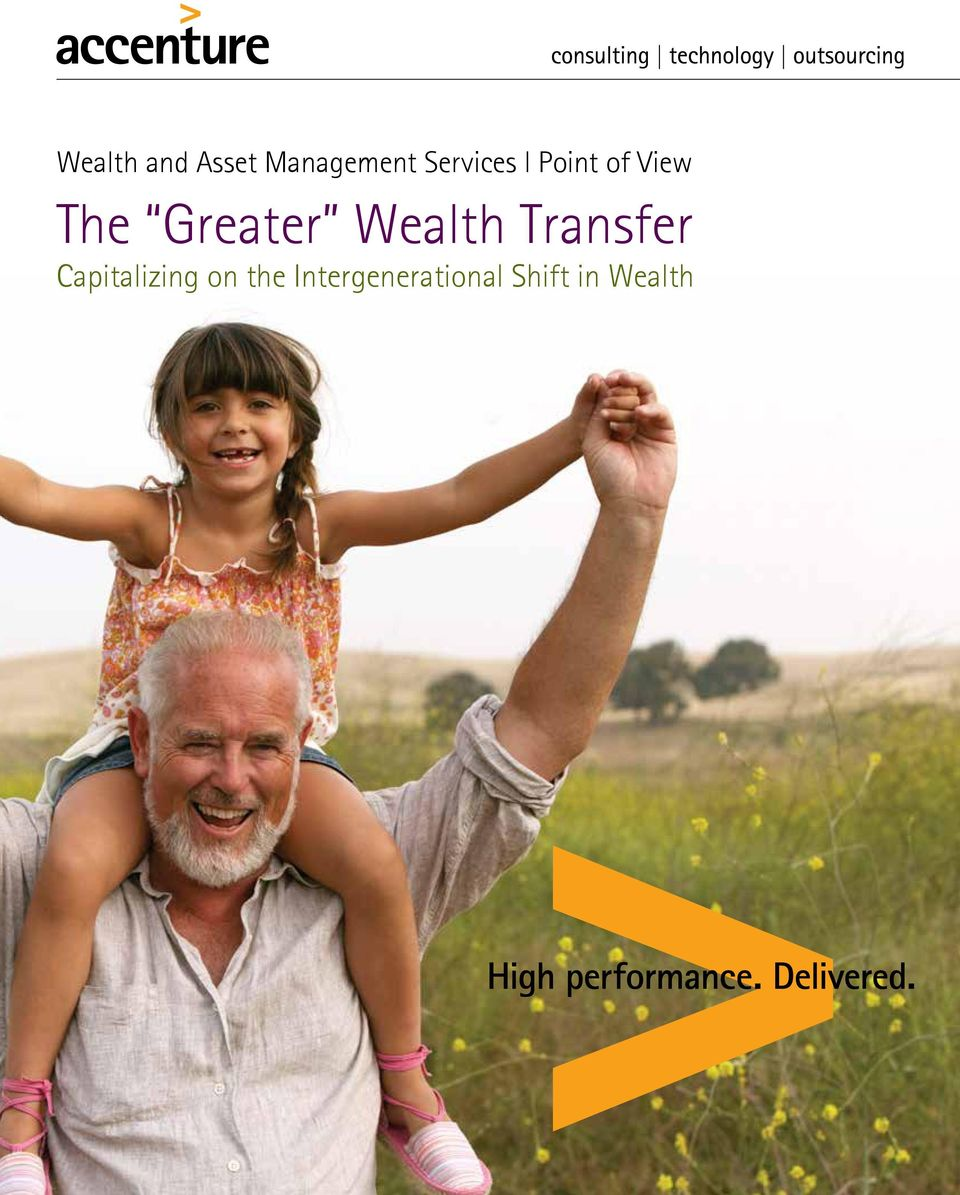 Greater Wealth Transfer