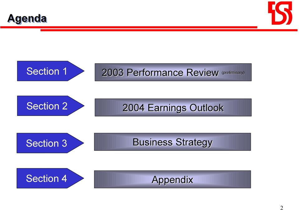 2004 Earnings Outlook Section 3