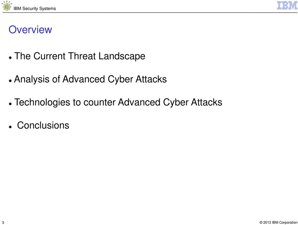 Cyber Attacks Technologies to