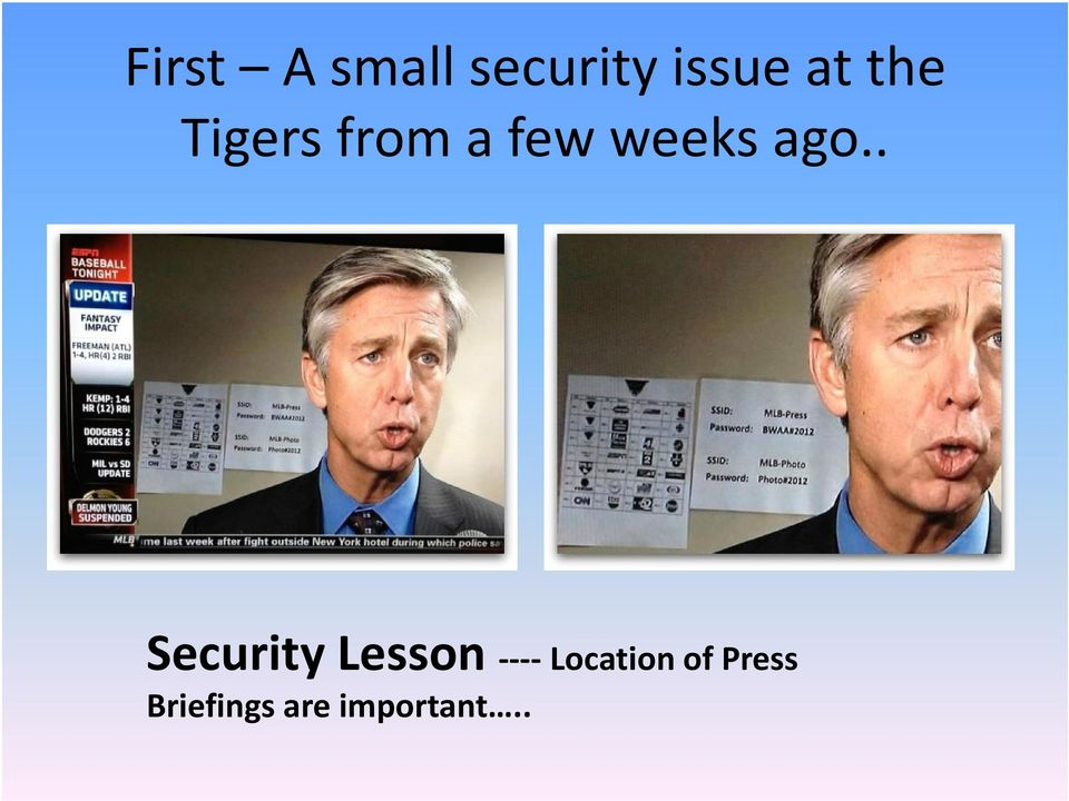 . Security Lesson ----Location