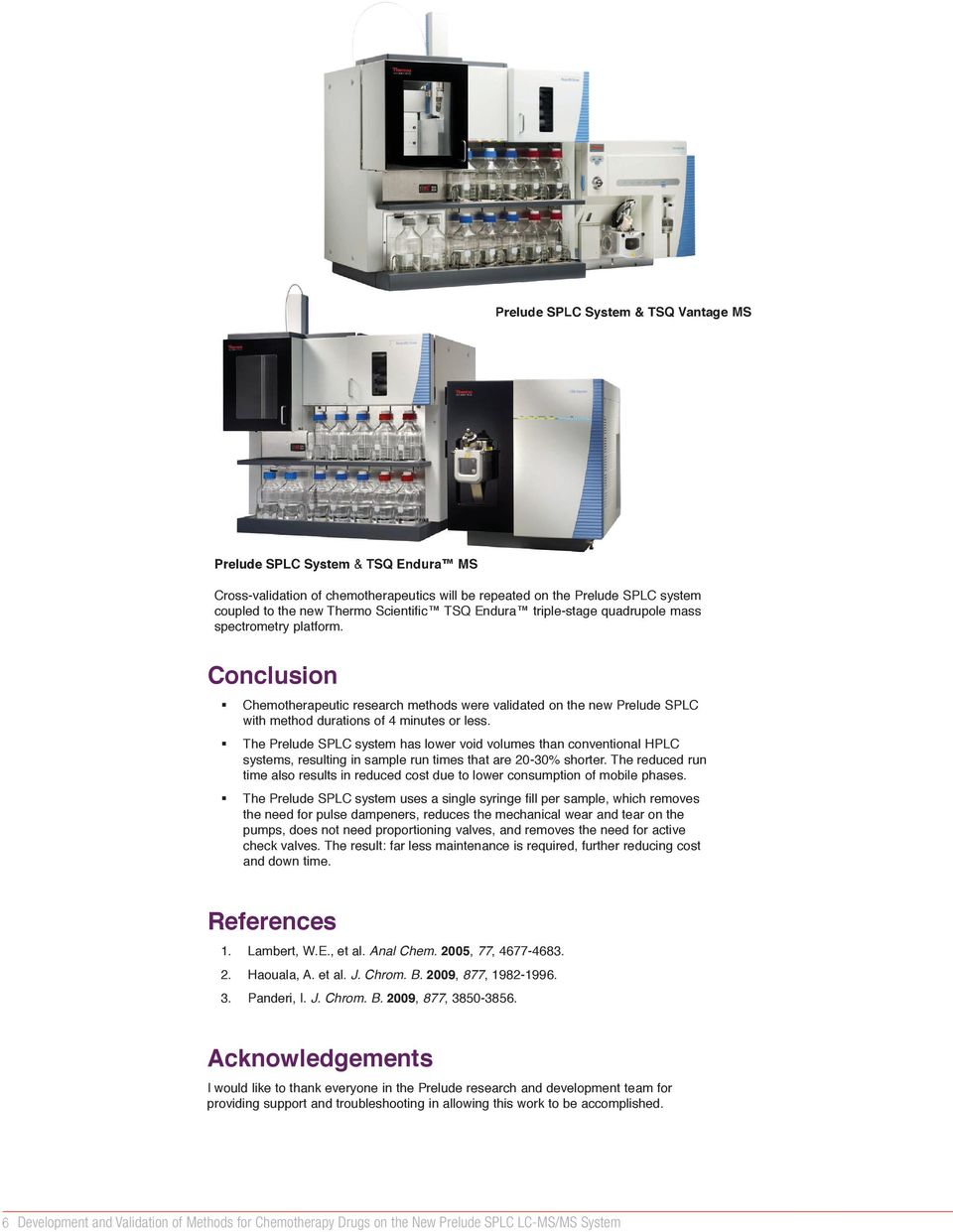 Scientific TSQ Endura triple-stage quadrupole mass spectrometry platform. 2 2 3 3 (sec) have been done previously with liquidinutes) 1-3.