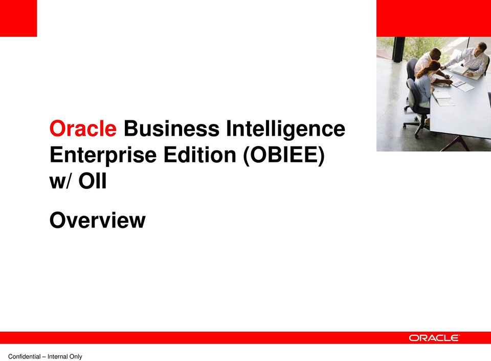 Enterprise Edition (OBIEE) w/