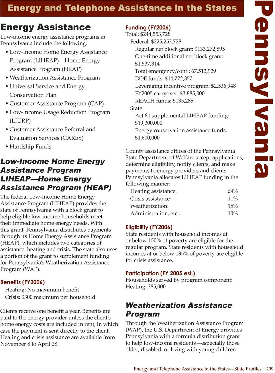 Low-Income Home Energy Assistance Program LIHEAP Home Energy Assistance Program (HEAP) The federal Low-Income Home Energy Assistance Program (LIHEAP) provides the state of with a block grant to help