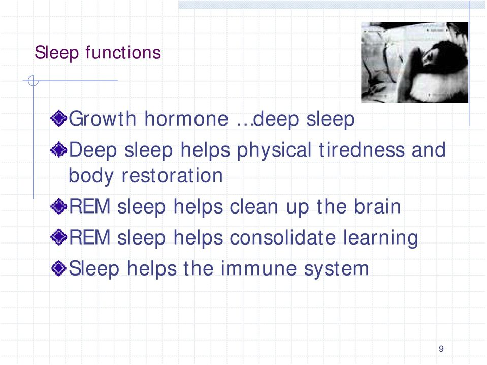 restoration REM sleep helps clean up the brain REM