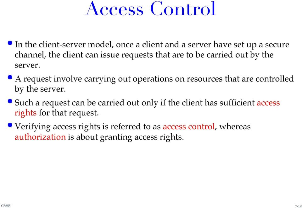 ! A request involve carrying out operations on resources that are controlled by the server.