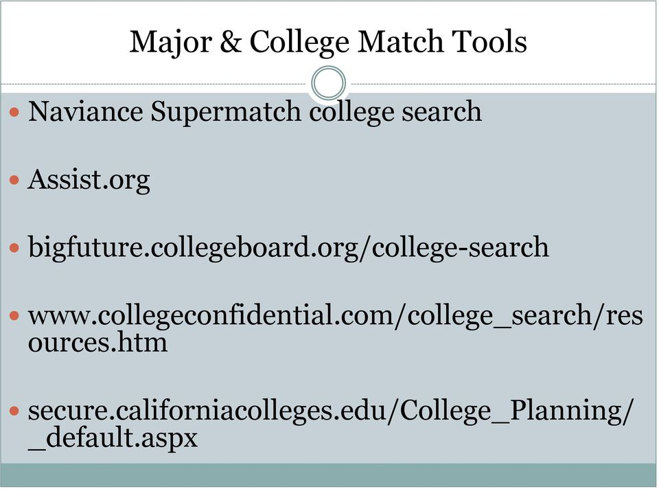 org/college-search www.collegeconfidential.